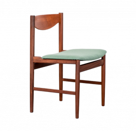 set of four dining chairs by ib kofod-larsen