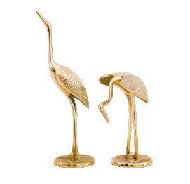 Couple of metal crane