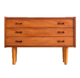 Danish teak chest of 3 drawers