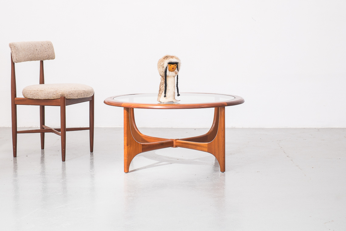 Circular Coffee Table from Stonehill, 1960s