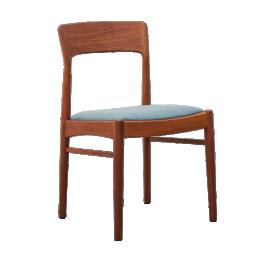 Mid-Century teak Dining Chairs by Kai Kristiansen for Korup Stolefabrik, Set of 4