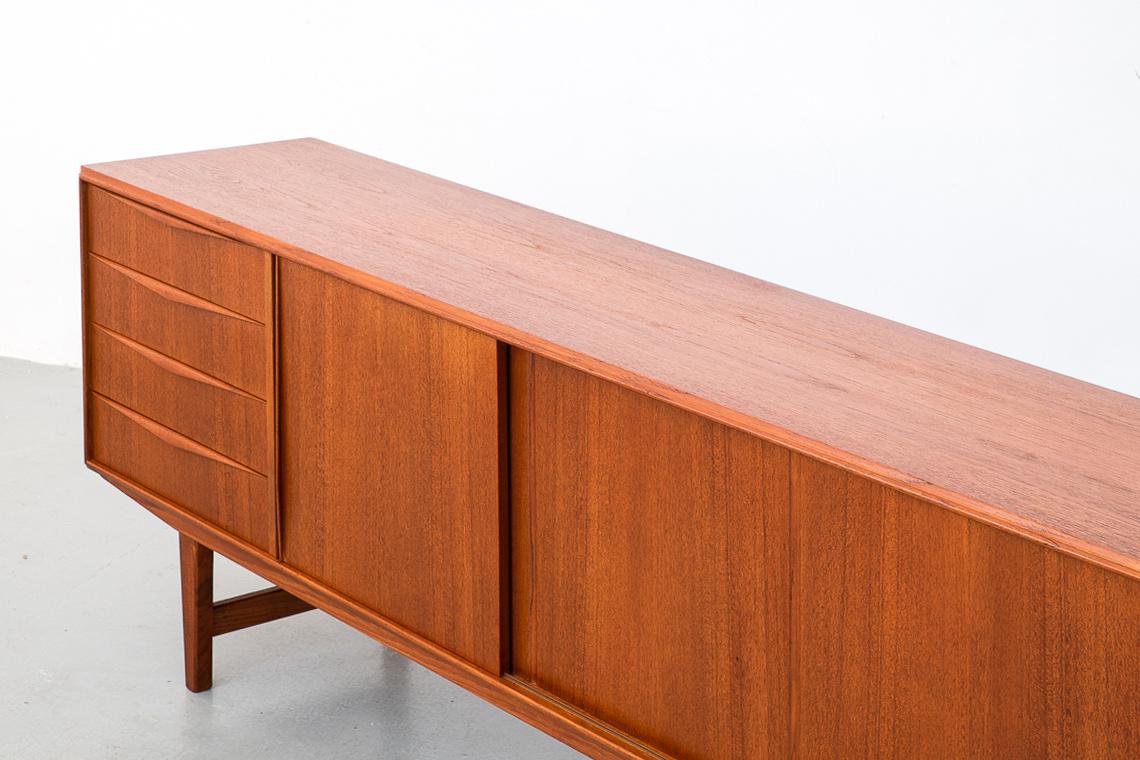 Danish Modern Teak Sideboard, 1960s