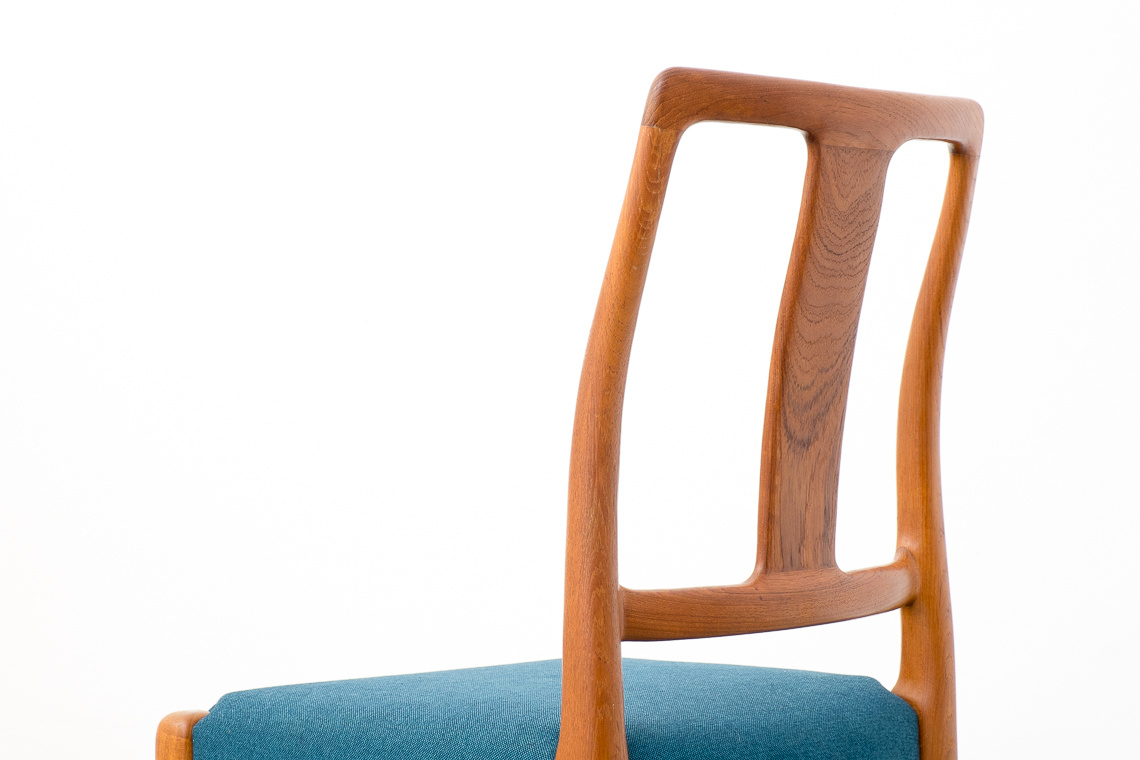 Teak Dining Chairs from Sax, 1970s, Set of 4