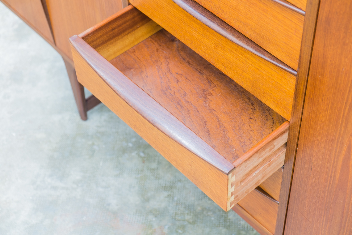 Danish sideboard by Peter Løvig Nielsen for Hedensted Møbelfabrik