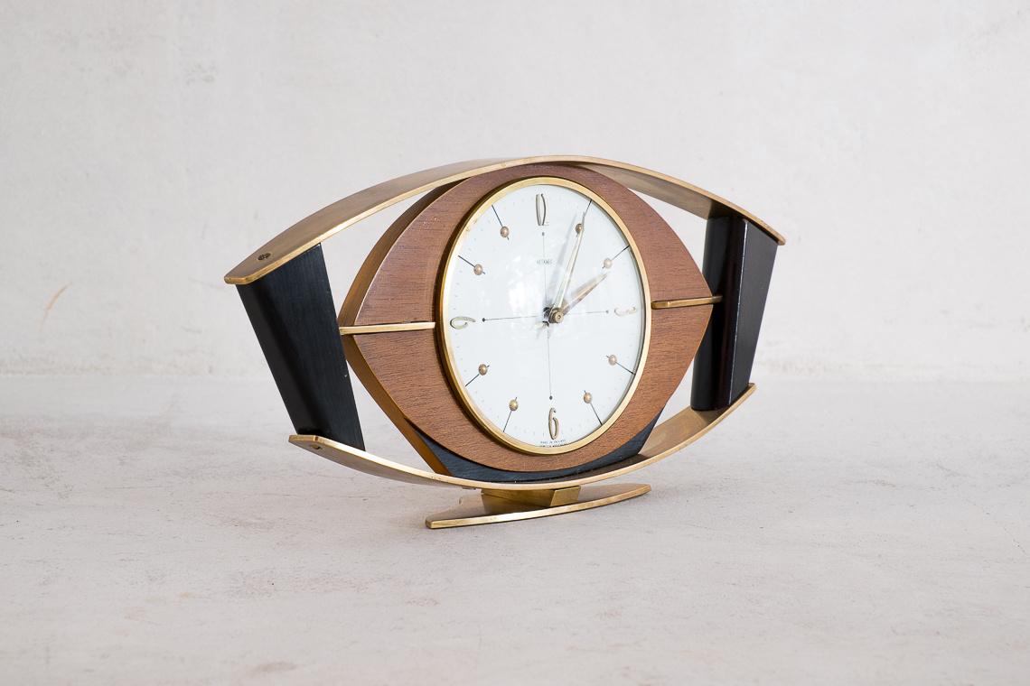 Mid-Century Electric Wall Clock from METAMEC