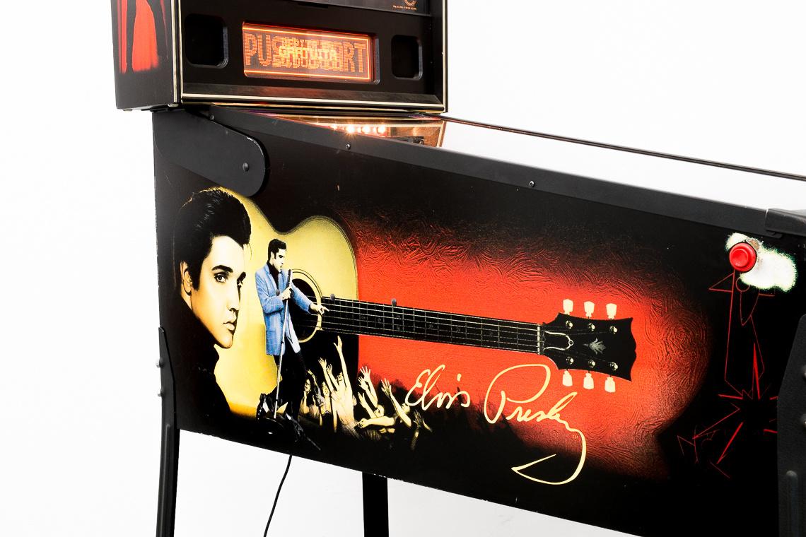 The Elvis Pinball Machine by Stern