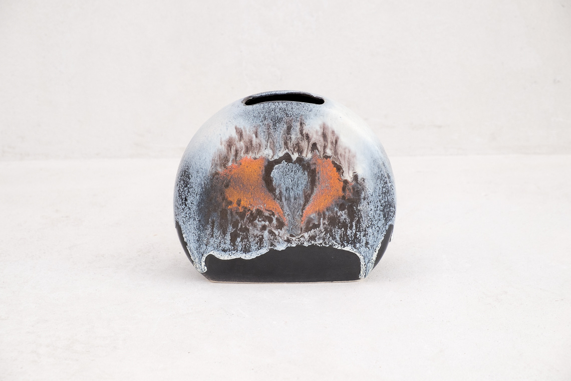 Lava Glaze Vase by Dümler & Breiden