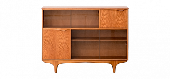 Tall Cabinet in teak by Sutcliffe of Todmorden