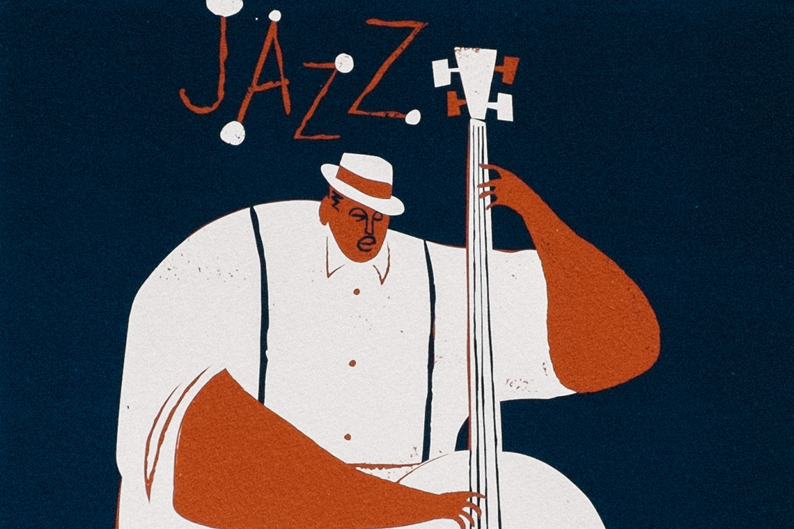 Art Print JAZZ by Iker Ayestaran
