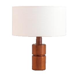 Danish teak lamp by Domus