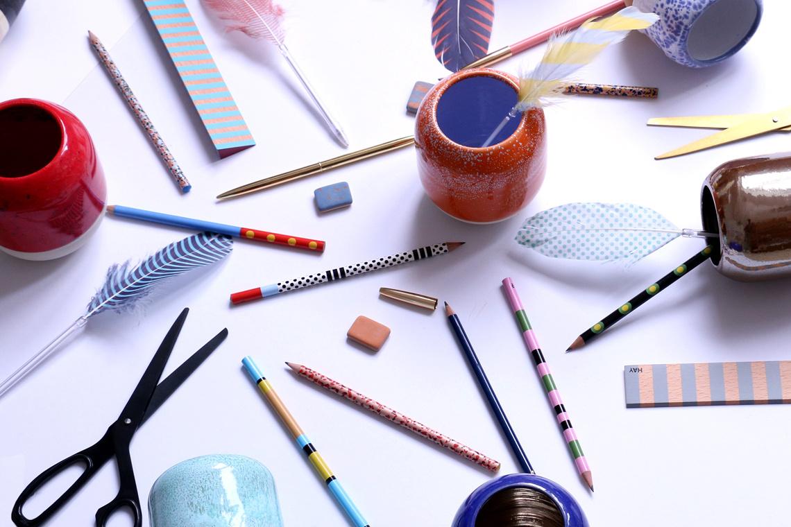 Pen 80s punk pastel