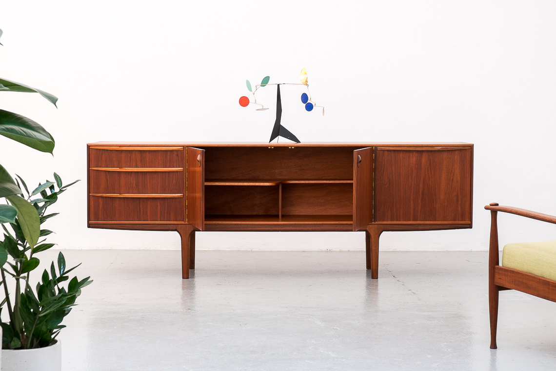 DUNFERMLINE TEAK SIDEBOARD BY TOM ROBERTSON FOR MCINTOSH