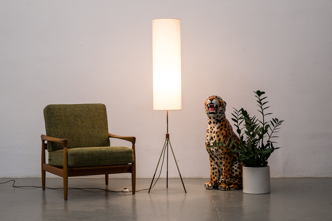 tripod FLOOR LAMP made in west Germany