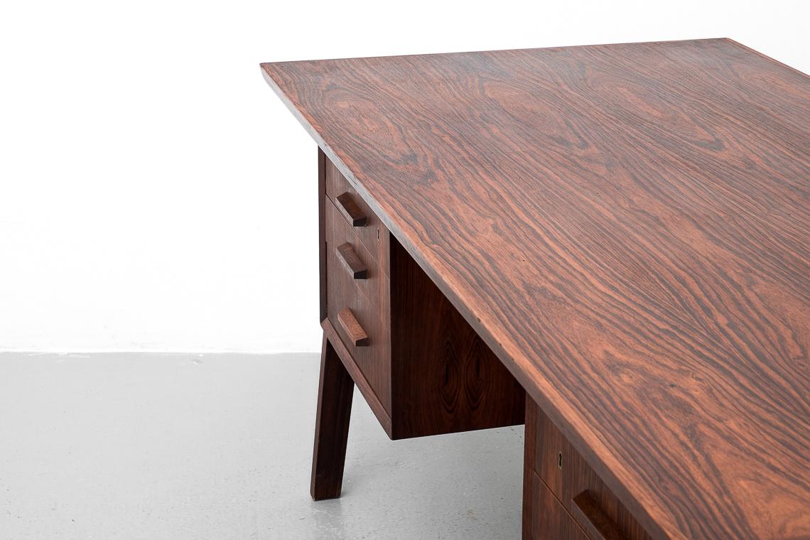 Mid-Century Danish Palisander Desk