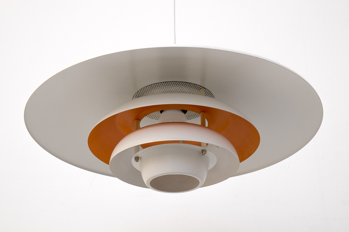 Danish Sofie Ceiling Lamp from Jeka Metaltryk