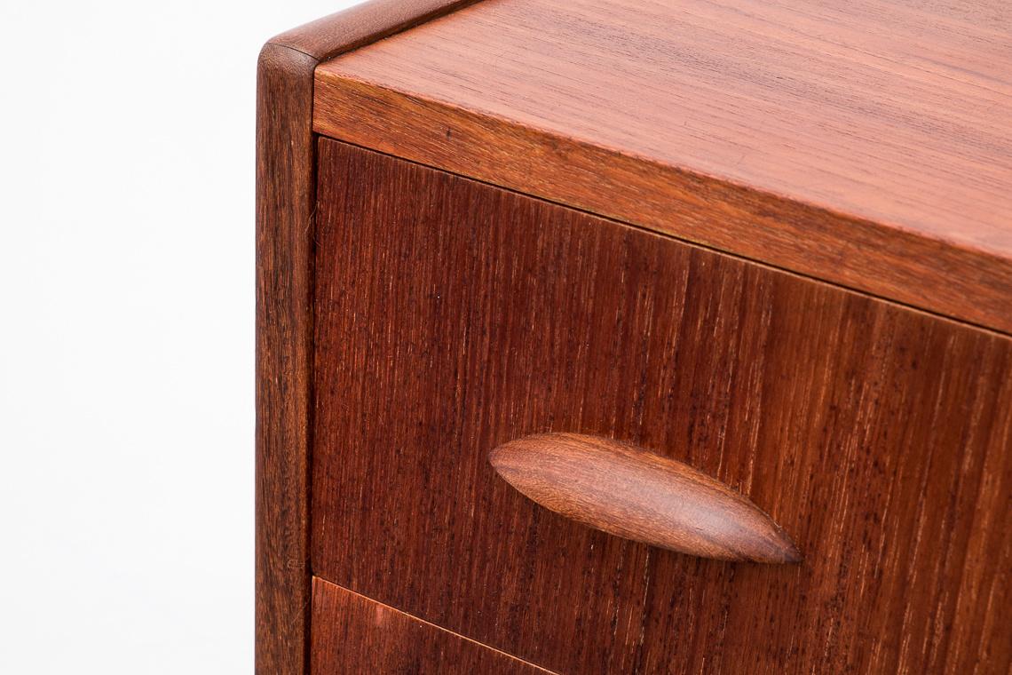 Mid-Century Danish Teak Chest of Drawers