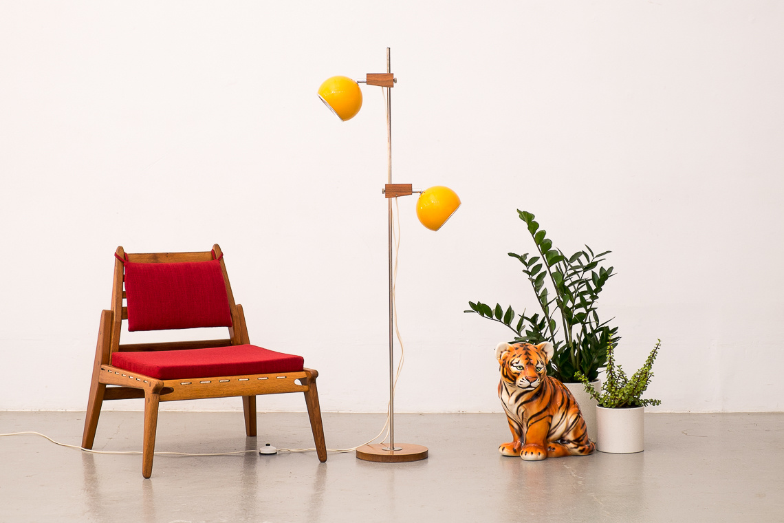 SWISS Floor Lamp Model 131 from Temde