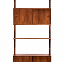 Rosewood Wall Unit  Shelving for HG Furniture