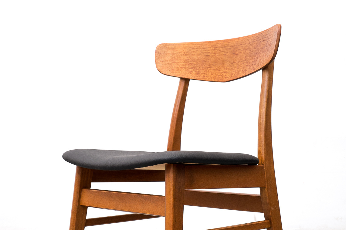 Set of 4 Dining Chairs from Farstrup STOLEFABRIK