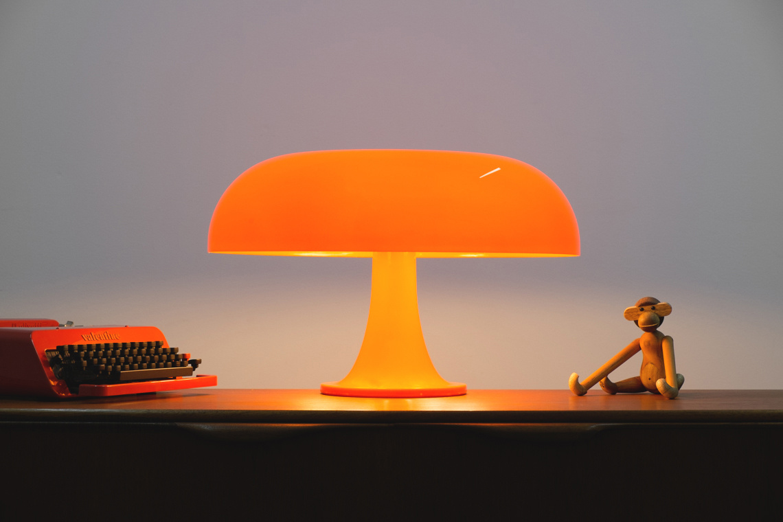 NESSO ARTEMIDE DESK LAMP BY Giancarlo Mattioli