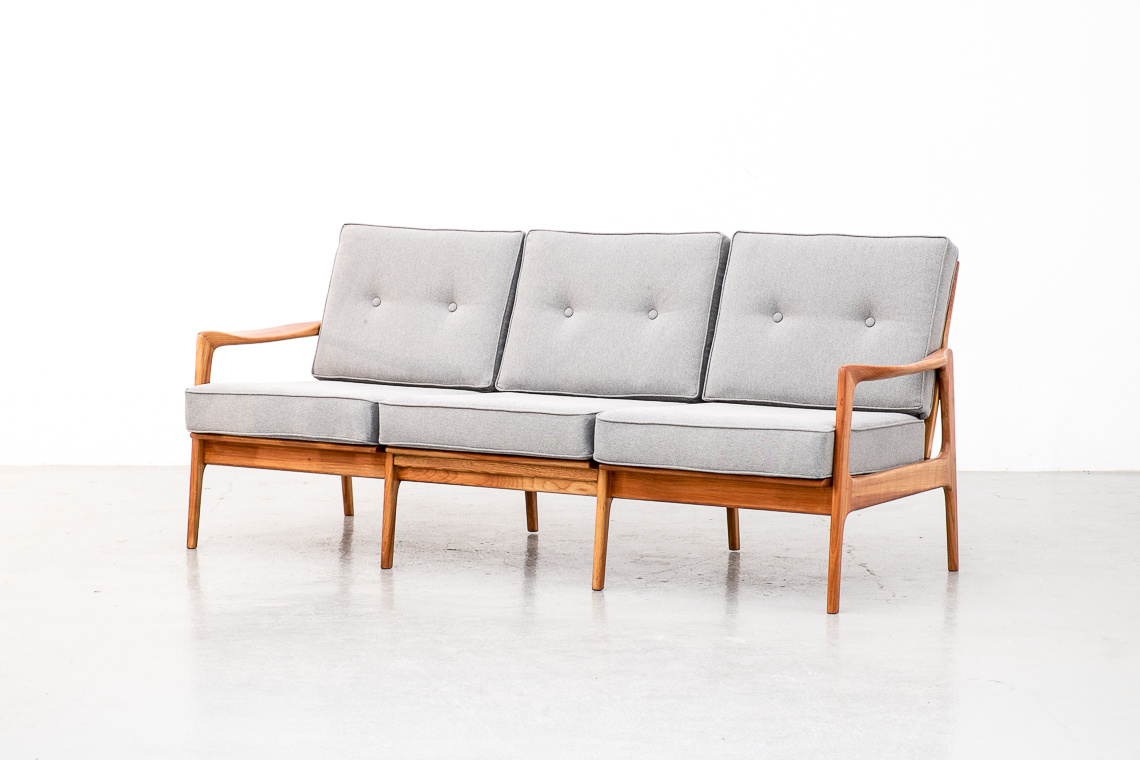 Scandinavian Three-Seat Sofa
