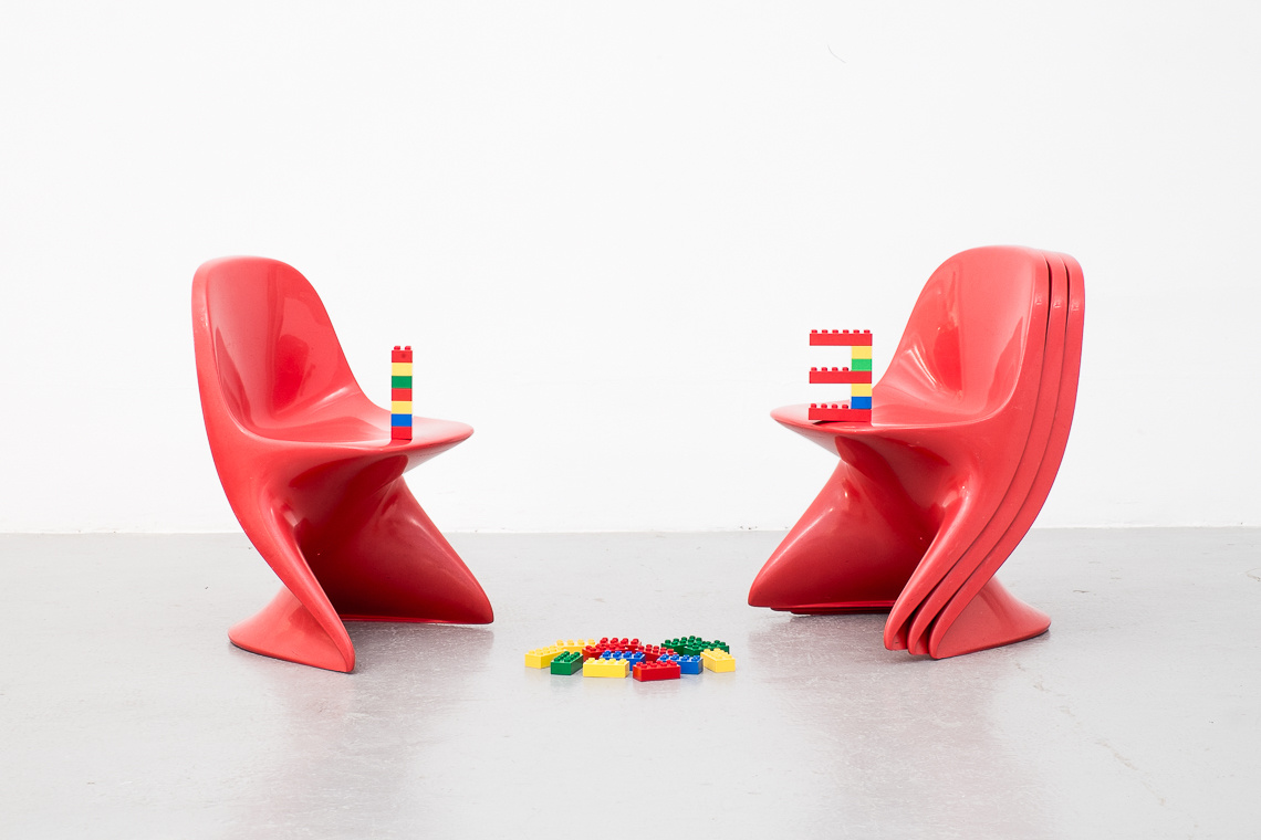 Casalino Child Chair by Alexander Begge for Casala W. Germany.
