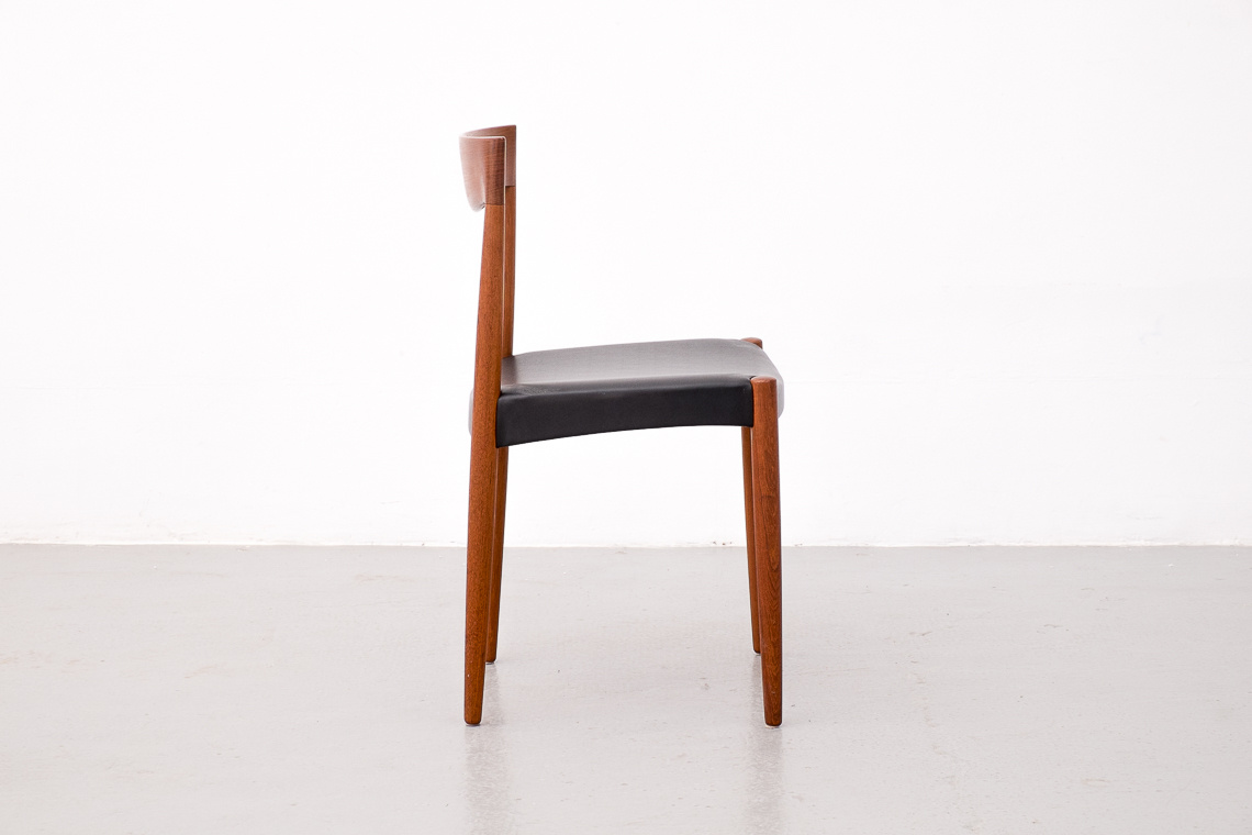 Set of 4 Teak Chairs by Harbo Sølvsten for J.C.A. Jensen Møbelfabrik