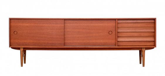 Midcentury Danish Large Sideboard in Teak