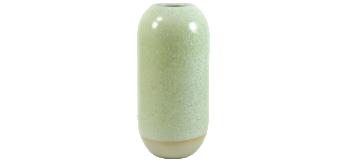 Yuki Vase Green Agate