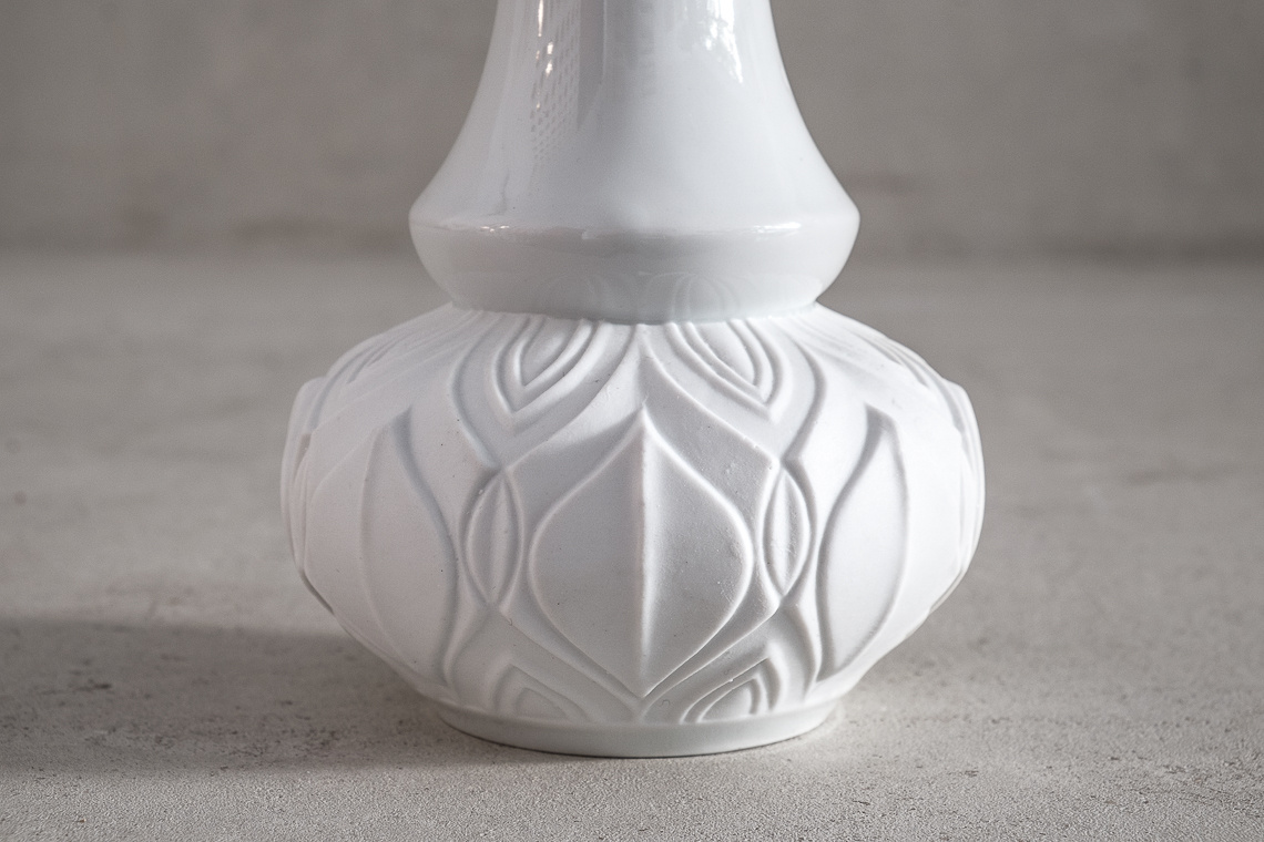 Mid-Century Modern Bavaria Porcelain Vase by ROYAL KPM