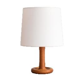 TEAK TABLE LAMP OF DYRLUND DENMARK