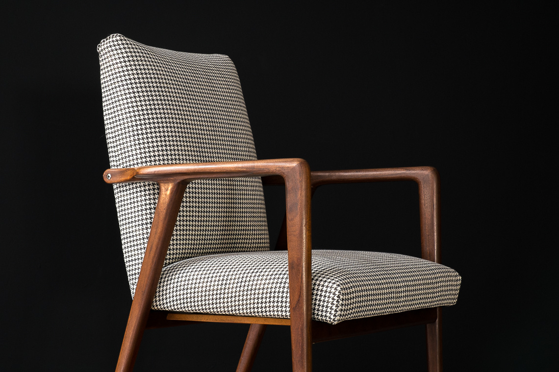 ARMCHAIR BY JOSEF HILLERBRAND FOR Wilkhahn