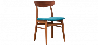 Set of 4 Teak Dining Chairs by Farstrup