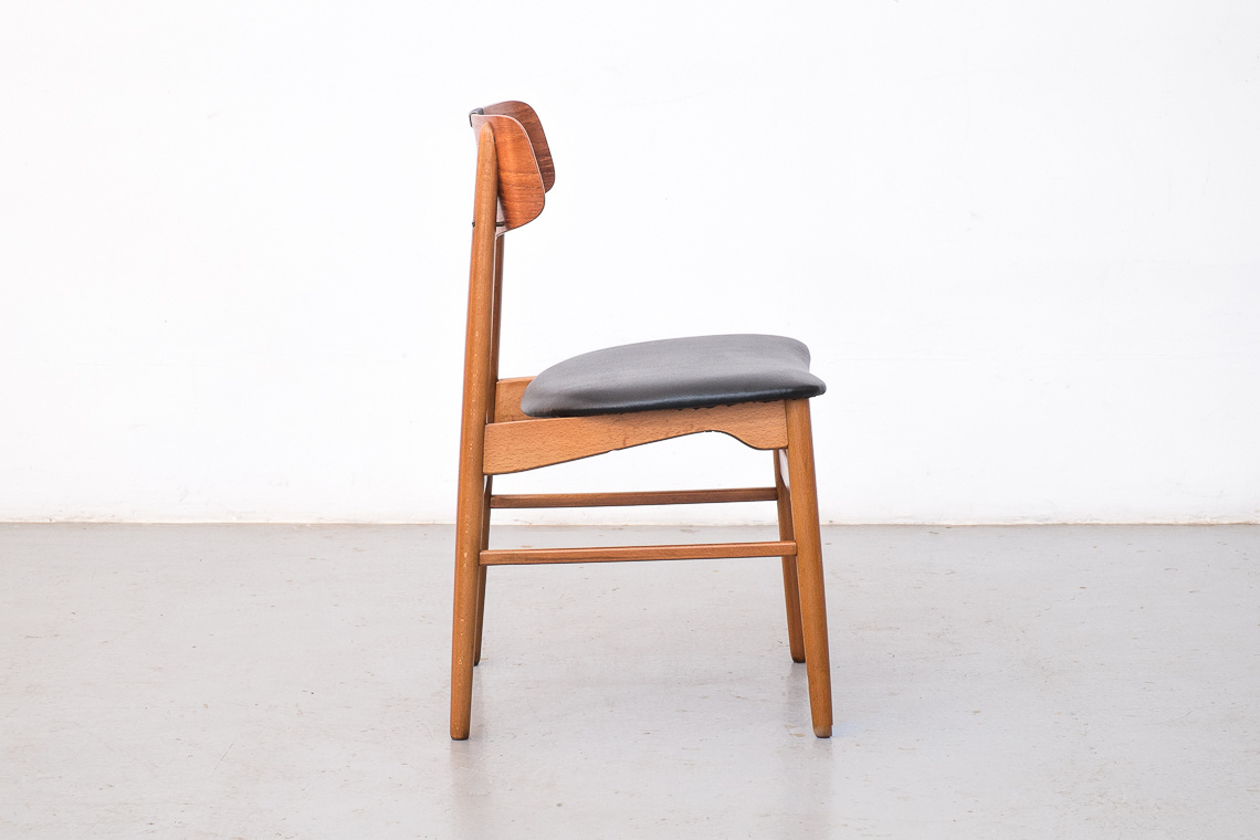 Set of 4 chairs made in denmark