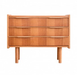 Danish small OAK Chest of Drawers BY Ejsing Mobelfabrik