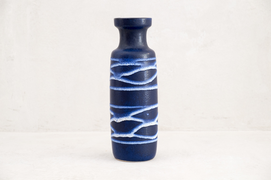 Mid-Century Fat Lava Ceramic Vase by Scheurich