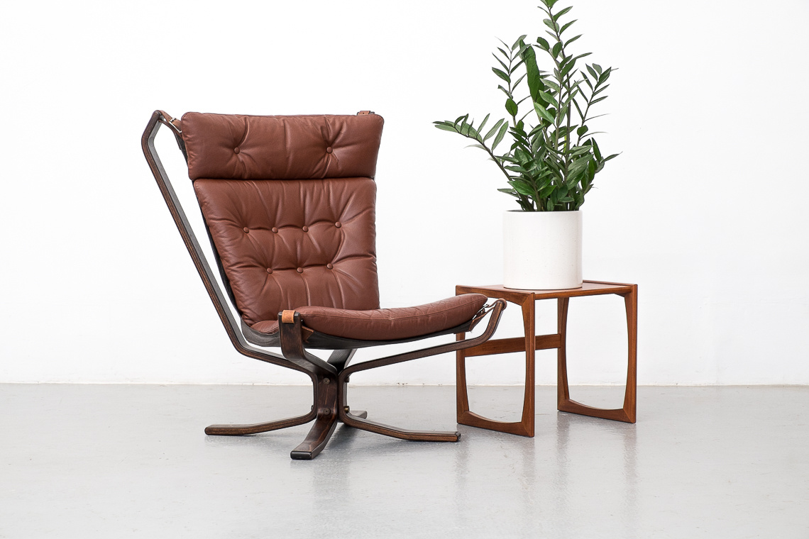 Danish Leather SuperStar  high lounge Chair