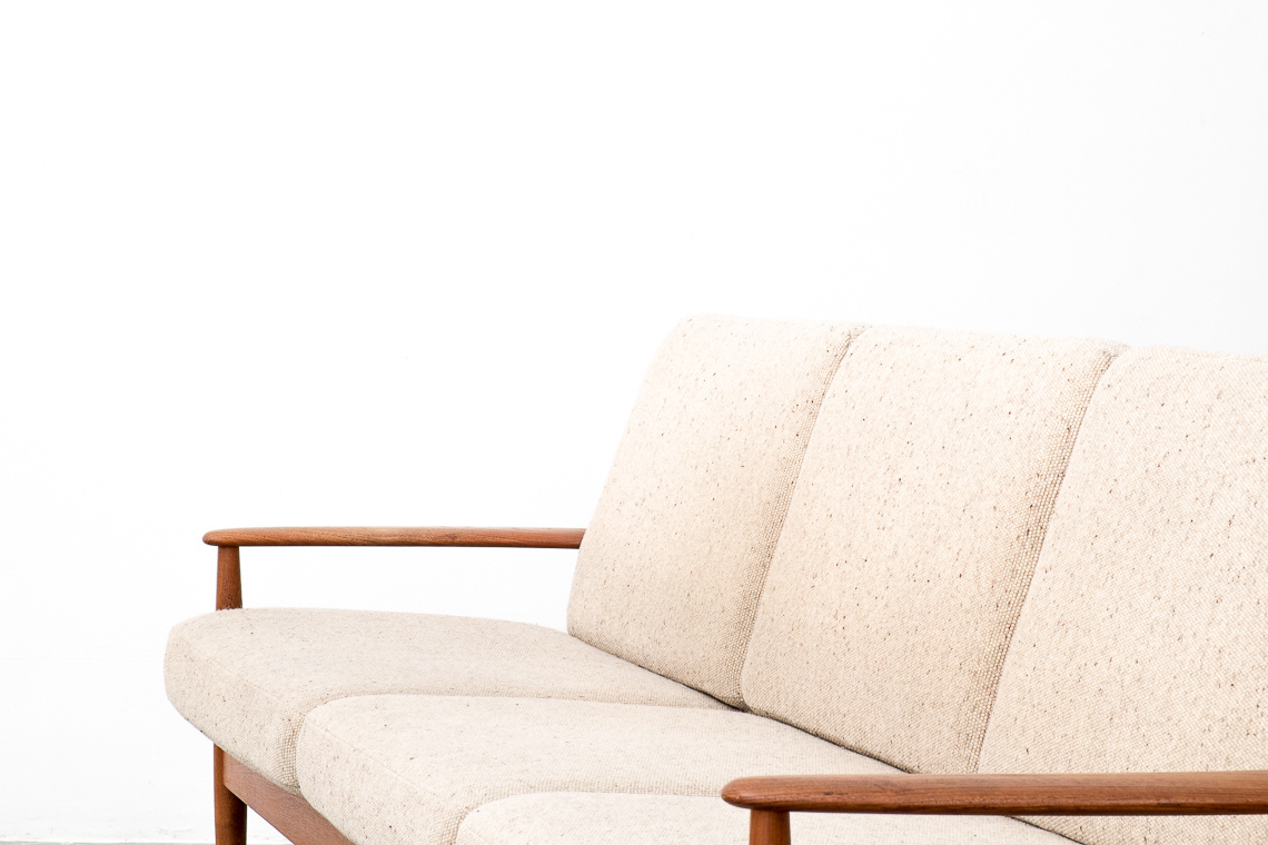Model 118 Teak Sofa by Grete Jalk for Cado