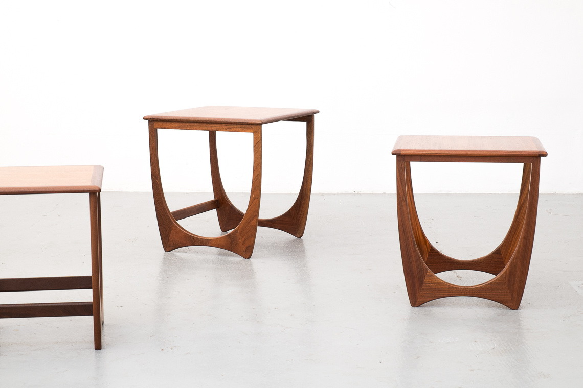 Fresco Nesting Tables by Victor Wilkins for G-Plan