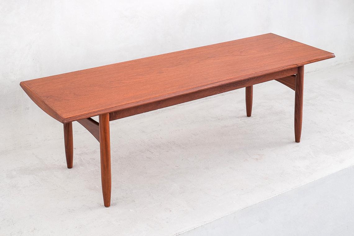 mid century scandinavian coffee table