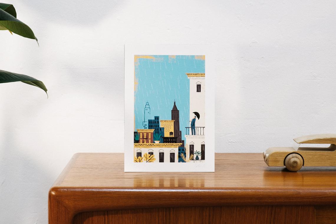 Art Print euria by Iker Ayestaran