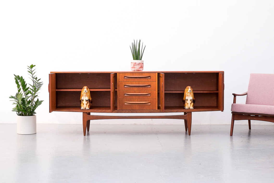 Fresco Teak Sideboard by V.B. Wilkins for G-Plan
