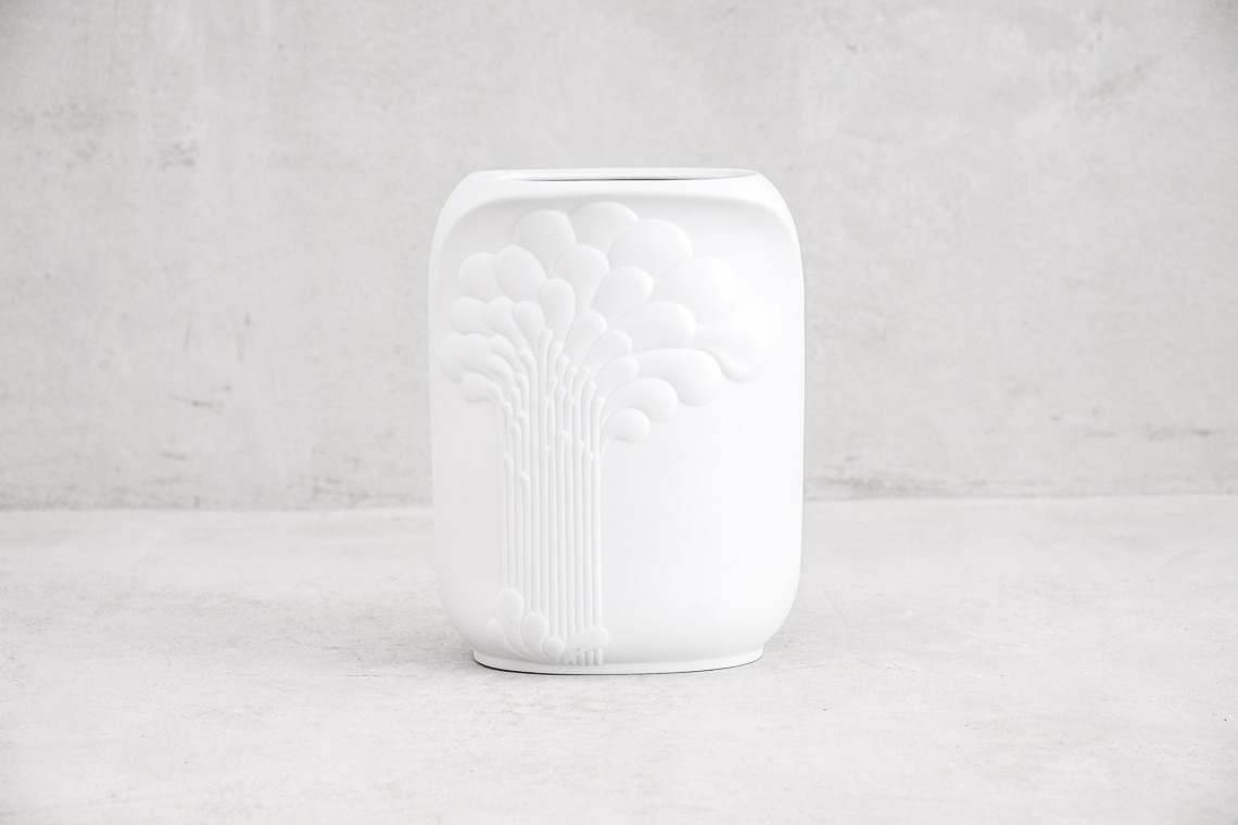 Collection of 3 Porcelain Op Art Vase by M. Frey for AK Kaiser