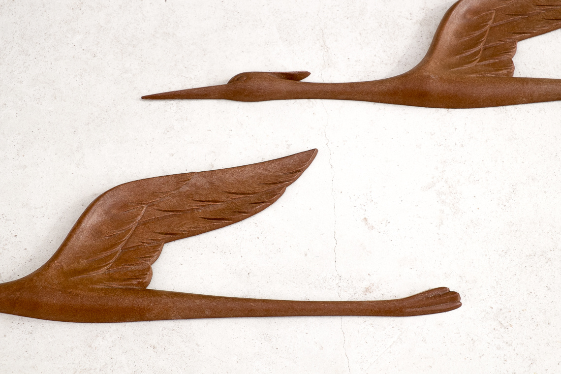 Set of 3 Flying BIRDS made in GERMANY