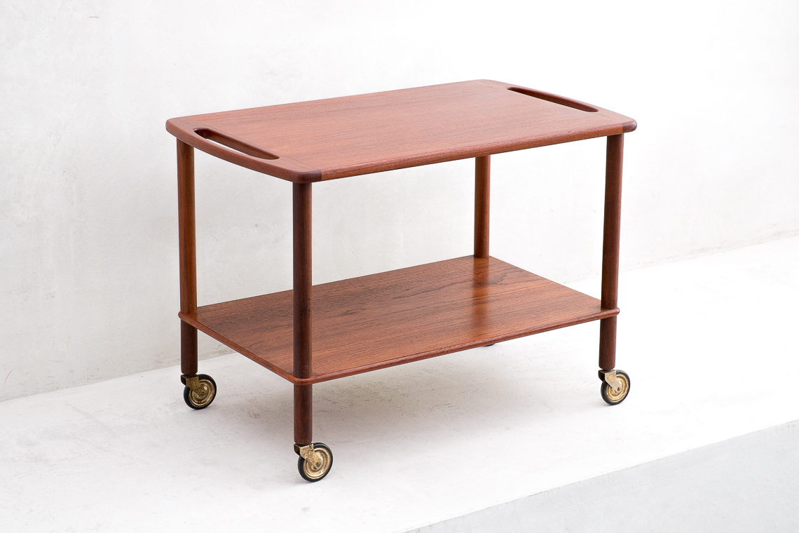 Mid Century Danish Teak Trolley