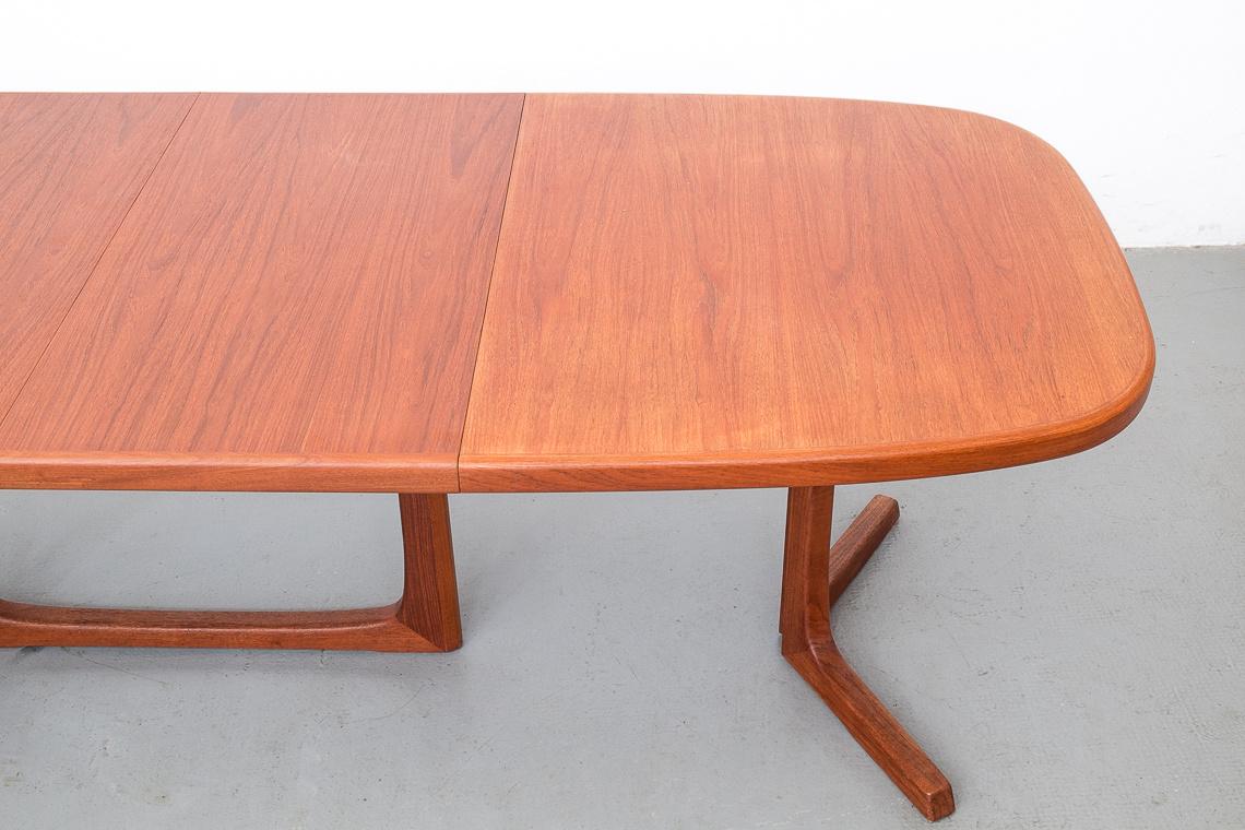 teak extending Dining table by Oluf Th. Larsen for NBM