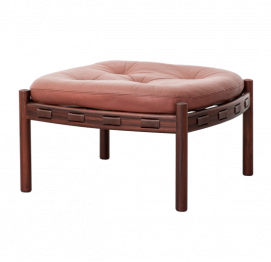 Rosewood Model 925 Ottoman by Arne Norell for Coja, 1960s