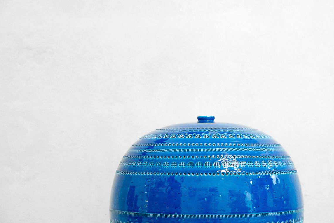 ALDO LONDI MID CENTURY CERAMICS RIMINI BLU FOR BITOSSI