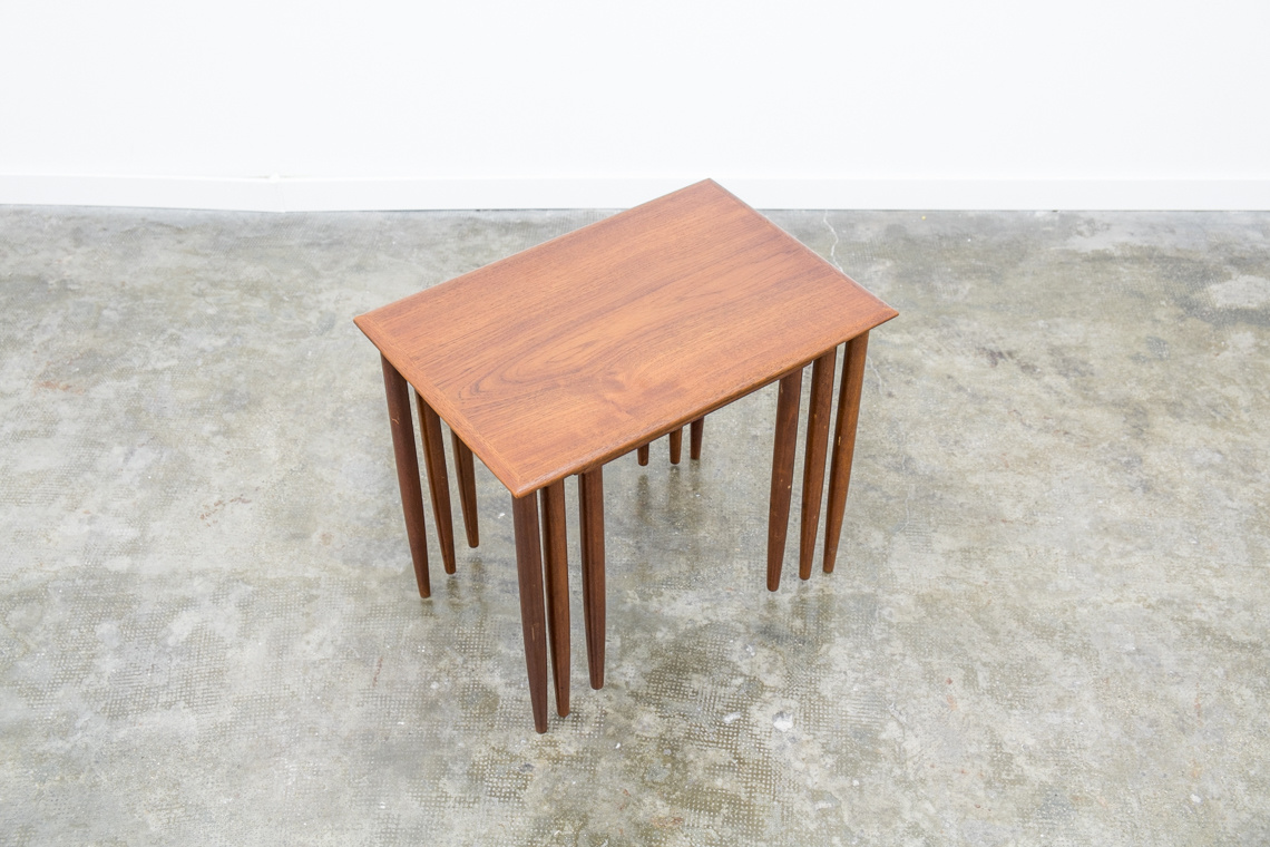 Danish mid century nest table