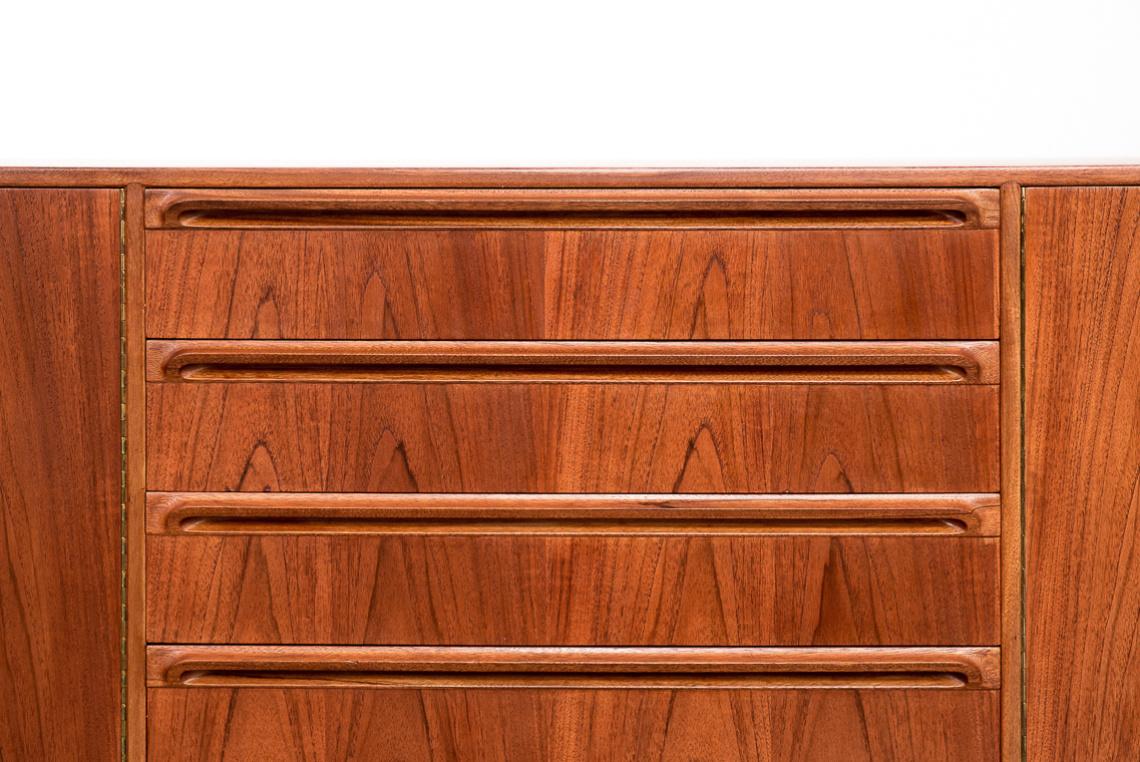 Mid-Century Dunbar Teak Sideboard by A. H. McIntosh Scotland